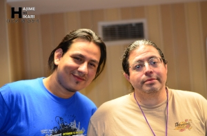Kouta & Robert Barba, CEO of Anime USA