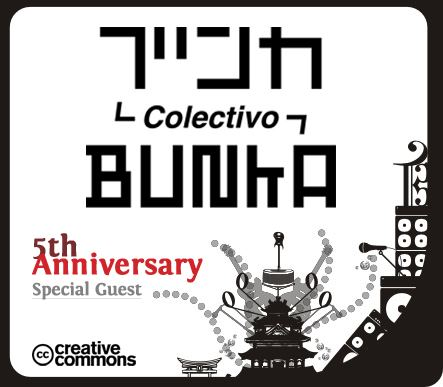 New Colectivo Bunka logo  to celebrate our 5th Anniversary.