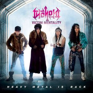 Victim Mentality New Album Cover -- Heavy Metal Is Back