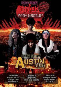 Victim Mentality SXSW Poster