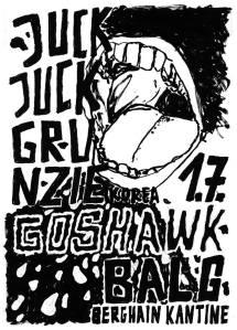 Juck Juck Grunzie July 1 Poster
